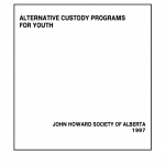 Alternative Custody Programs for Youth (1997)