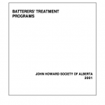 Batterers' Treatment Programs (2001)