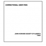 Correctional User Fees (1995)