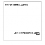 Cost of Criminal Justice (1997)