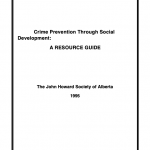 Crime Prevention Through Social Development: A Resource Guide (1995)
