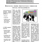 Crime Prevention Through Social Development (2000)