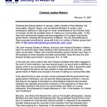 Criminal Justice Reform (2007)