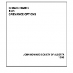 Inmate Rights and Grievance Options (1998)