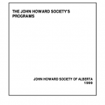The John Howard Society's Programs (1999)