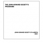 the john Howard Society's Programs (2001)