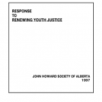 Response to Renewing Youth Justice (1997)