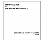 Response (1994) to Sentencing Amendments