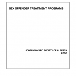 Sex Offender Treatment Programs (2002)