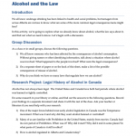ALCL0101 - Alcohol and the Law