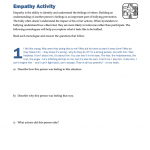 BLYG0203 - Bullying: Empathy Activity
