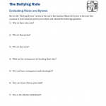 BLYG0204 - Bullying: Rules and Bylaws