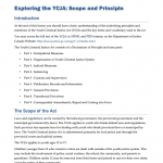 YCJA0209 - Exploring the YCJA: Scope and Principle