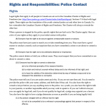 YCJA0210 - Exploring the YCJA: Rights & Responsibilities - Police Contact